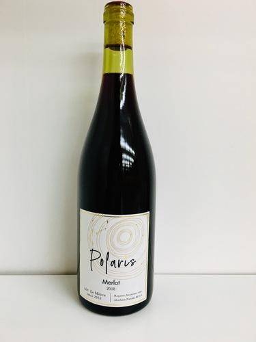 Le Milieuで造っている「Polarisメルロー」のワイン画像