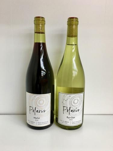 Le Milieuというワイナリーで造ったメルローと竜眼のワイン
