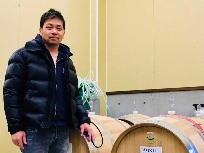 坂城葡萄酒醸造の成澤さん