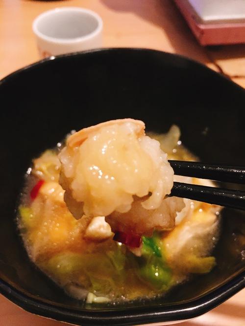 牛小腸のもつ鍋
