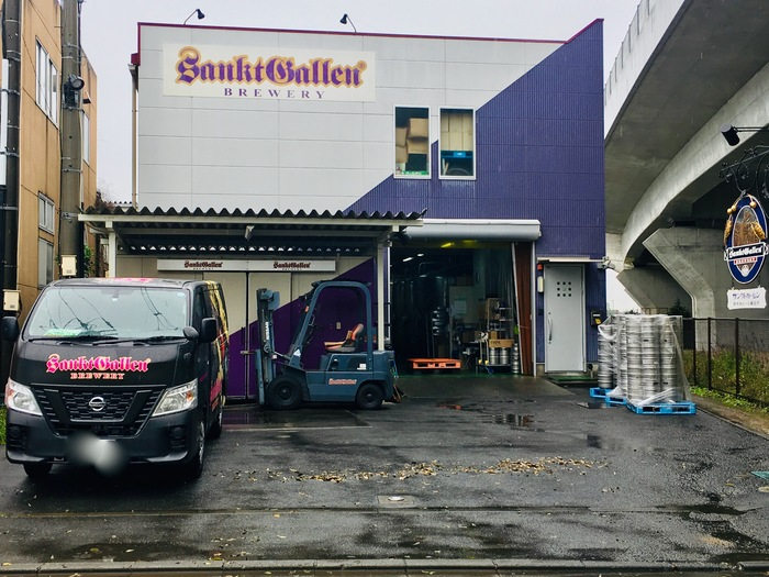 サンクトガーレンビール工場