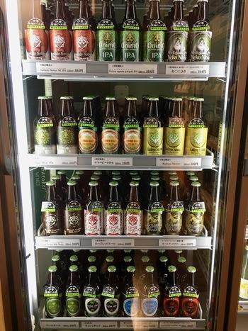 白鷹三宅商店のビール冷蔵庫