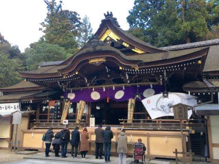 大神神社の本堂